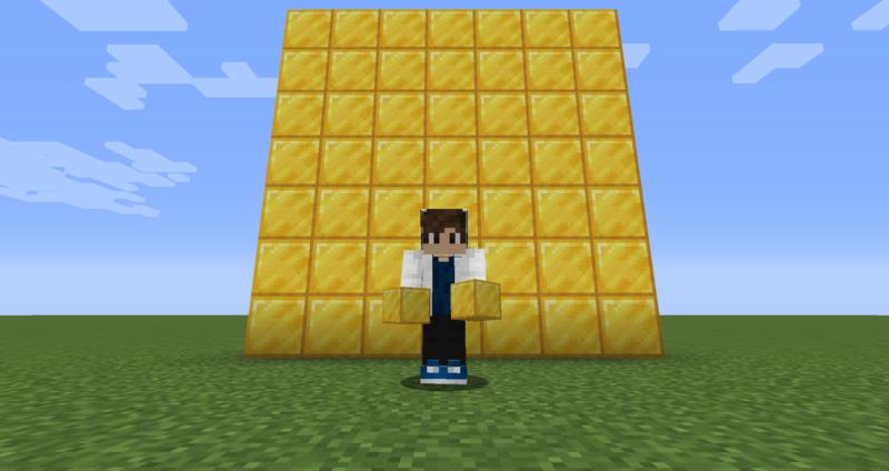 【マイクラ(JE)】金ブロックの入手方法と2つの使い道を解説(もさもさのマインクラフト)