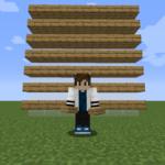 【マイクラ(JE)】オークのハーフブロックの入手方法と5つの使い道を解説(あかまつんのマインクラフト)