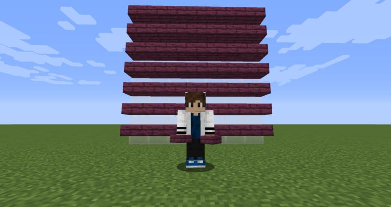 【マイクラ(JE)】真紅のハーフブロックの入手方法と4つの使い道を解説(もさもさのマインクラフト)