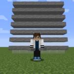 【マイクラ(JE)】石のハーフブロックの入手方法と使い道を解説(あかまつんのマインクラフト)