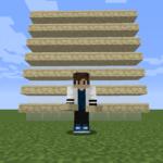 【マイクラ(JE)】砂岩のハーフブロックの入手方法と使い道を解説(あかまつんのマインクラフト)