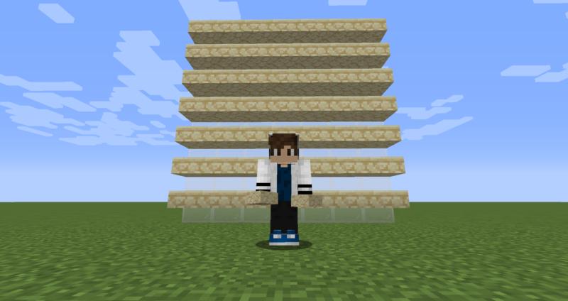 【マイクラ(JE)】砂岩のハーフブロックの入手方法と使い道を解説(もさもさのマインクラフト)