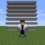 【マイクラ(JE)】丸石のハーフブロックの入手方法と使い道を解説(あかまつんのマインクラフト)