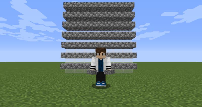 【マイクラ(JE)】丸石のハーフブロックの入手方法と使い道を解説(もさもさのマインクラフト)