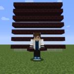 【マイクラ(JE)】ネザーレンガのハーフブロックの入手方法と使い道を解説(あかまつんのマインクラフト)