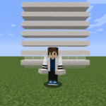 【マイクラ(JE)】クォーツのハーフブロックの入手方法と使い道を解説(あかまつんのマインクラフト)