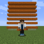 【マイクラ(JE)】赤い砂岩のハーフブロックの入手方法と使い道を解説(あかまつんのマインクラフト)
