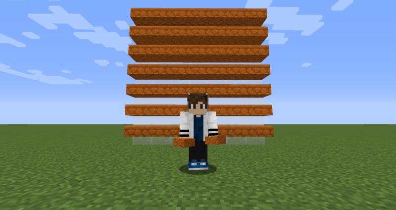 【マイクラ(JE)】赤い砂岩のハーフブロックの入手方法と使い道を解説(もさもさのマインクラフト)