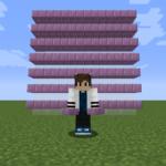 【マイクラ(JE)】プルプァのハーフブロックの入手方法と使い道を解説(あかまつんのマインクラフト)