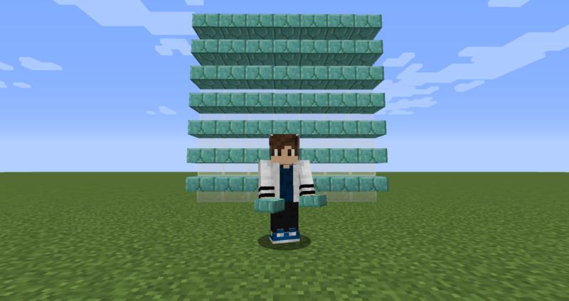 【マイクラ(JE)】プリズマリンレンガのハーフブロックの入手方法と使い道を解説(もさもさのマインクラフト)