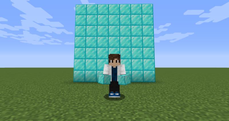 【マイクラ(JE)】ダイヤモンドブロックの入手方法と使い道を解説(もさもさのマインクラフト)