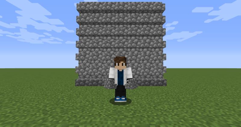 【マイクラ(JE)】丸石の階段の入手方法と使い道を解説(もさもさのマインクラフト)