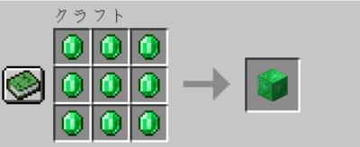 エメラルドブロックの入手方法