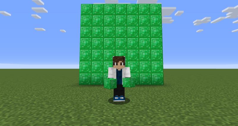 【マイクラ(JE)】エメラルドブロックの入手方法と2つの使い道を解説(もさもさのマインクラフト)