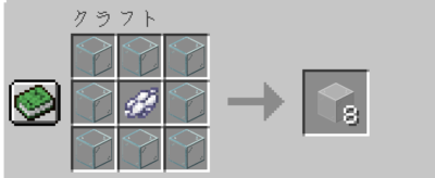 白色の色付きガラスの入手方法
