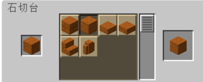 石切台を使って研がれた赤い砂岩を入手する