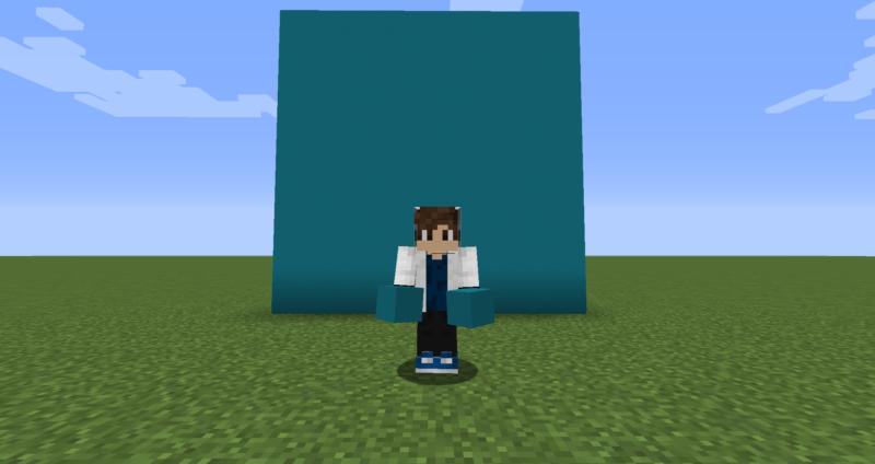 【マイクラ(JE)】青緑色のコンクリートの入手方法と使い道を解説(もさもさのマインクラフト)