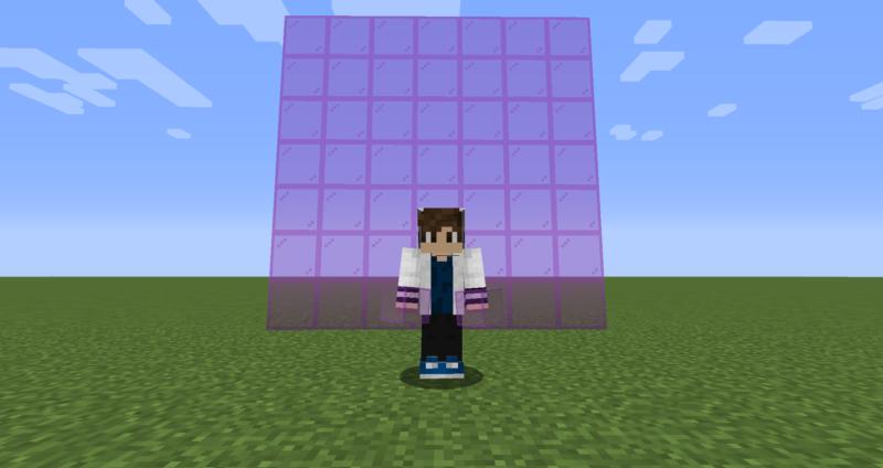 【マイクラ(JE)】赤紫色の色付きガラスの入手方法と使い道を解説(もさもさのマインクラフト)