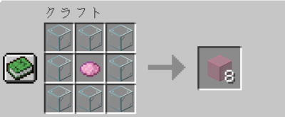 桃色の色付きガラスの入手方法