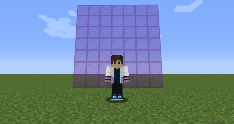 【マイクラ(JE)】紫色の色付きガラスの入手方法と使い道を解説(もさもさのマインクラフト)