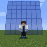 【マイクラ(JE)】青色の色付きガラスの入手方法と使い道を解説(あかまつんのマインクラフト)