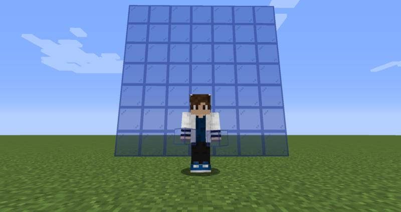 【マイクラ(JE)】青色の色付きガラスの入手方法と使い道を解説(もさもさのマインクラフト)
