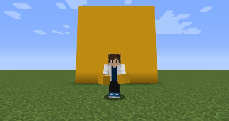 【マイクラ(JE)】黄色のコンクリートの入手方法と使い道を解説(もさもさのマインクラフト)