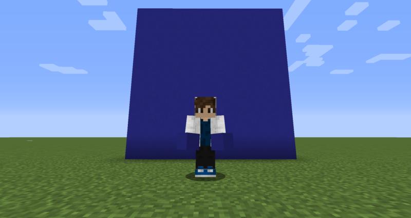 【マイクラ(JE)】青色のコンクリートの入手方法と使い道を解説(もさもさのマインクラフト)