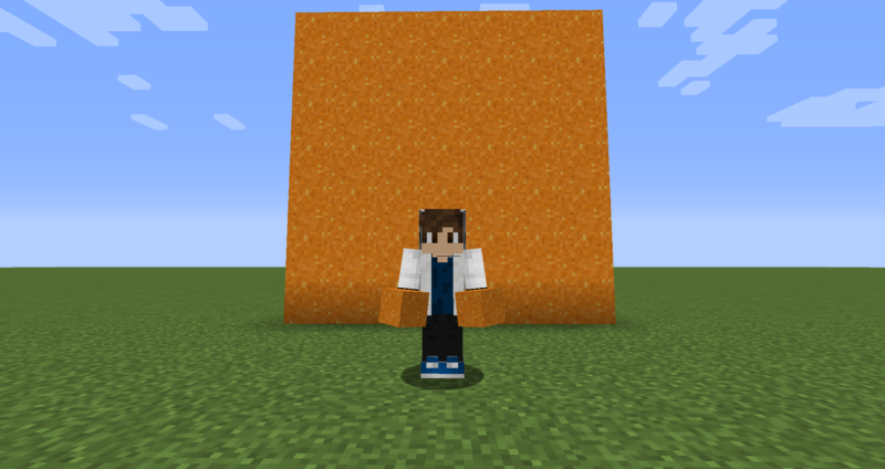 【マイクラ(JE)】橙色のコンクリートパウダーの入手方法と使い道を解説(もさもさのマインクラフト)