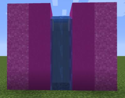 赤紫色のコンクリートパウダーの使い道