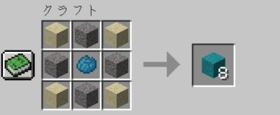 青緑色のコンクリートパウダーの入手方法