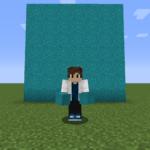 【マイクラ(JE)】青緑色のコンクリートパウダーの入手方法と使い道を解説(あかまつんのマインクラフト)