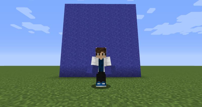 【マイクラ(JE)】青色のコンクリートパウダーの入手方法と使い道を解説(もさもさのマインクラフト)
