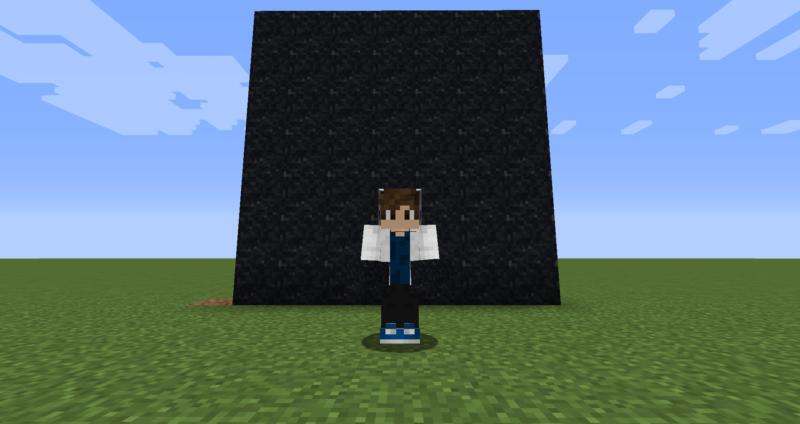 【マイクラ(JE)】黒色のコンクリートパウダーの入手方法と使い道を解説(もさもさのマインクラフト)