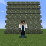 【マイクラ(JE)】苔むした丸石の階段の入手方法と使い道を解説(あかまつんのマインクラフト)