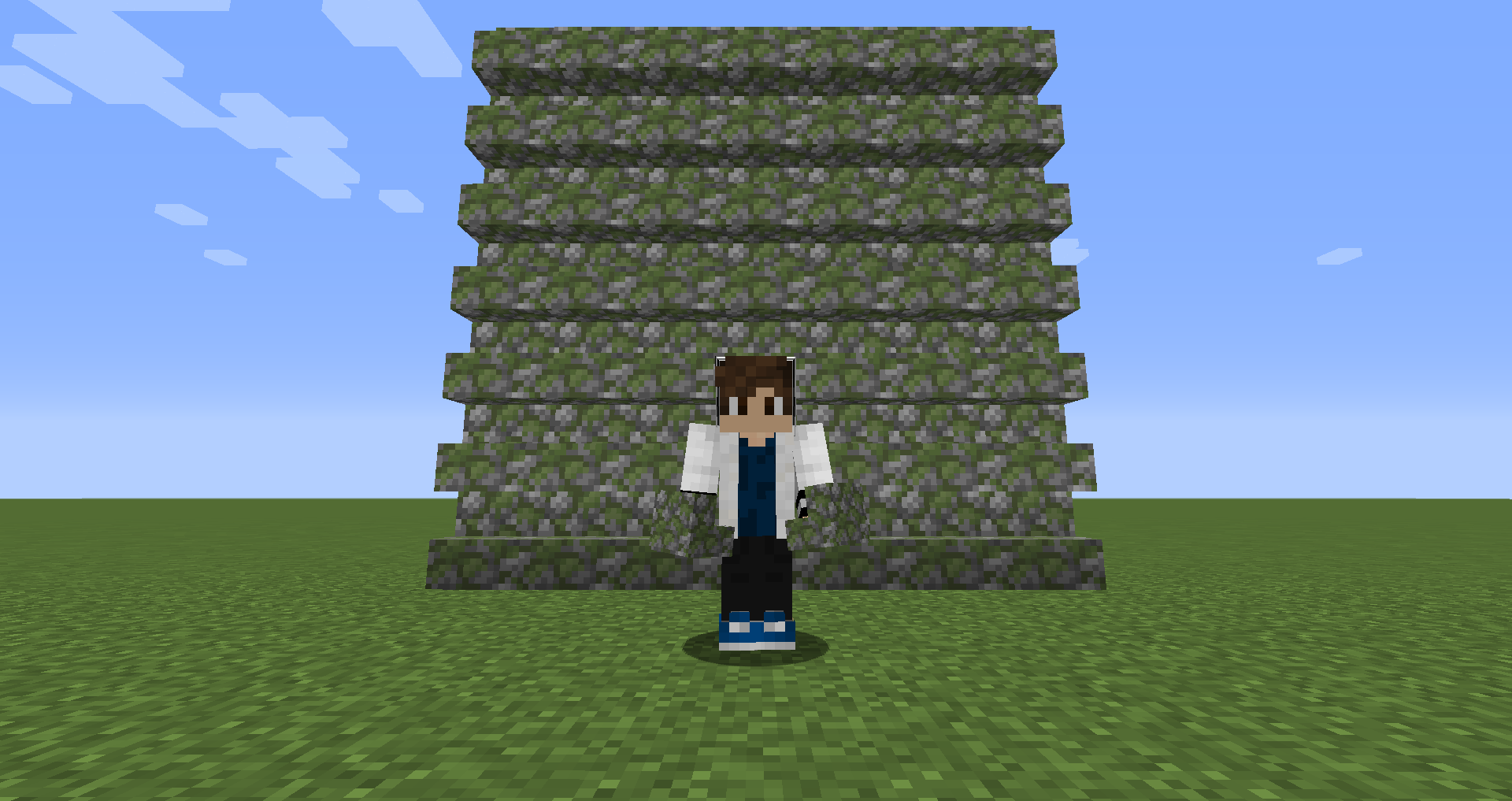 【マイクラ(JE)】苔むした丸石の階段の入手方法と使い道を解説(もさもさのマインクラフト)
