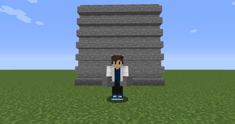 【マイクラ(JE)】石の階段の入手方法と使い道を解説(もさもさのマインクラフト)