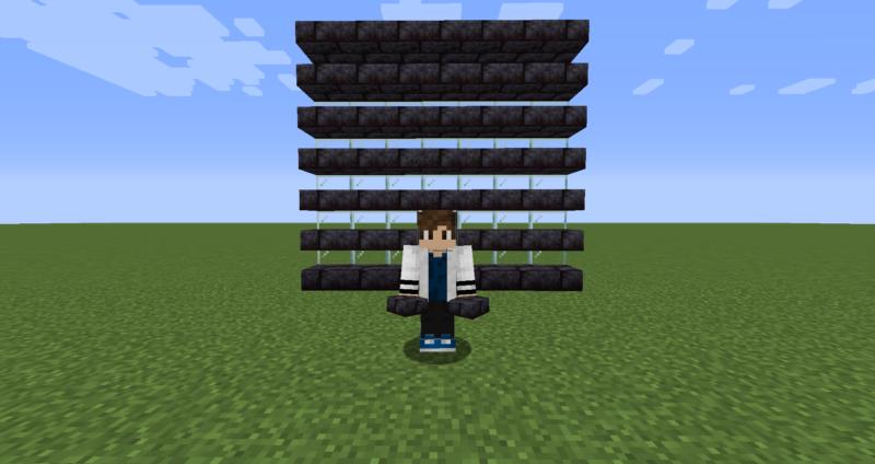 【マイクラ(JE)】磨かれたブラックストーンレンガのハーフブロックの入手方法と使い道を解説(もさもさのマインクラフト)