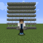 【マイクラ(JE)】苔むした石レンガのハーフブロックの入手方法と使い道を解説(あかまつんのマインクラフト)