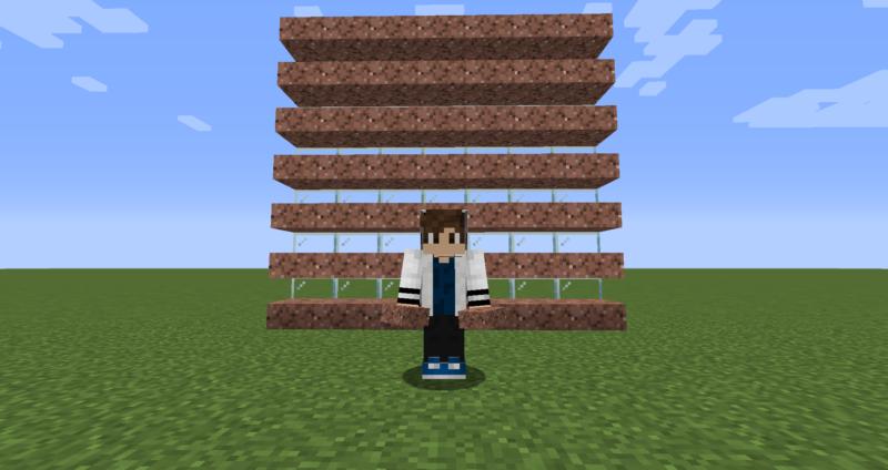 【マイクラ(JE)】花崗岩のハーフブロックの入手方法と使い道を解説(もさもさのマインクラフト)