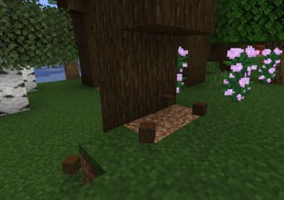 ダークオークの苗木を育ててダークオークの原木を入手する