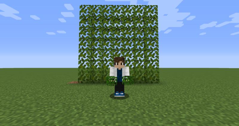 【マイクラ(JE)】ジャングルの葉の入手方法と使い道を解説(もさもさのマインクラフト)