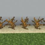 【マイクラ(JE)】枯れ木の入手方法と使い道を解説(あかまつんのマインクラフト)