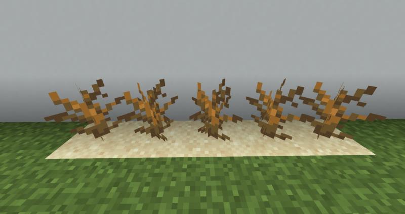【マイクラ(JE)】枯れ木の入手方法と使い道を解説(もさもさのマインクラフト)