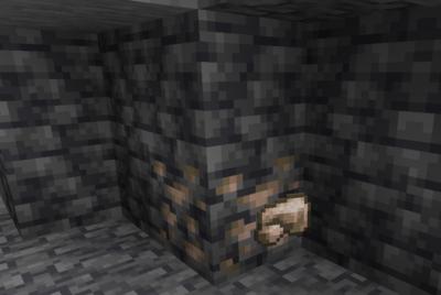 深層鉄鉱石を鉄の原石にクラフトする