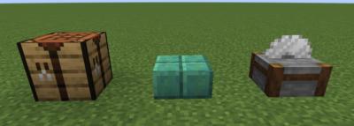 酸化した切り込み入りの銅を酸化した切り込み入りの銅のハーフブロックにクラフトする