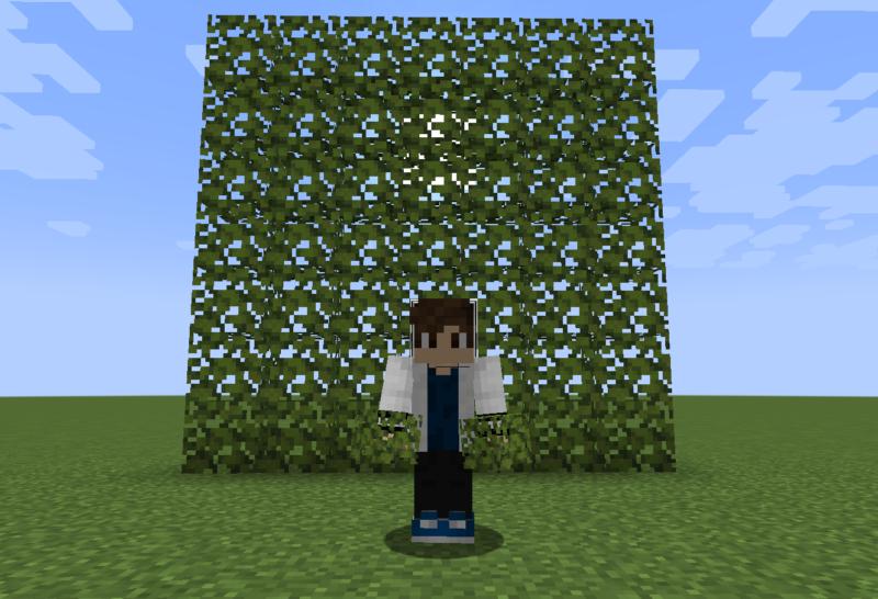 【マイクラ(JE)】ツヅジの葉の入手方法と使い道を解説(もさもさのマインクラフト)