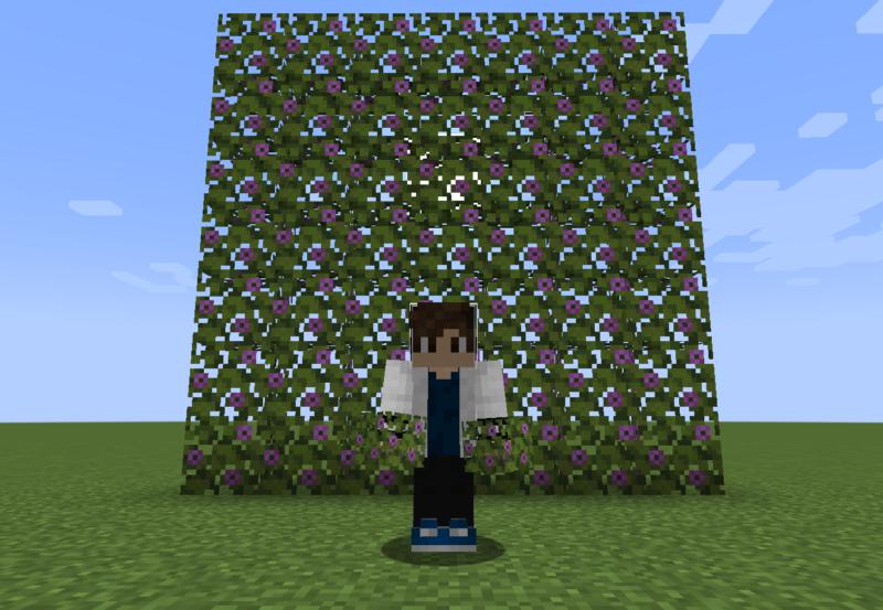 【マイクラ(JE)】開花したツヅジの葉の入手方法と使い道を解説(もさもさのマインクラフト)