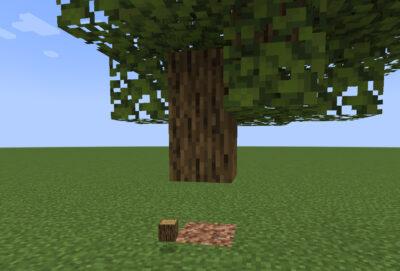 オークの原木を作る