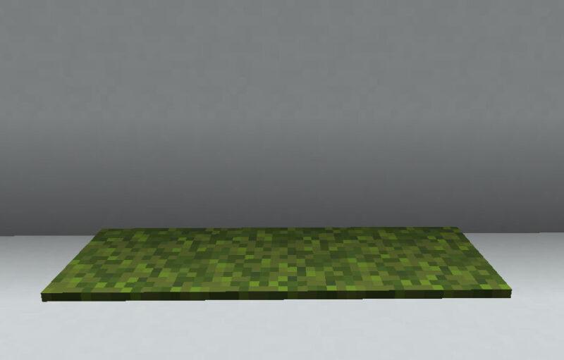 【マイクラ(JE)】苔のカーペットの入手方法と使い道を解説(もさもさのマインクラフト)